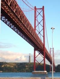 Inauguração da Ponte Salazar, hoje Ponte 25 de Abril